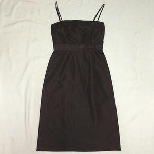 J. Crew Silk Spaghetti Strap Dress sz T2